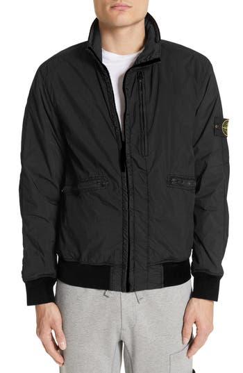 Stone Island Crinkled Nylon Jacket