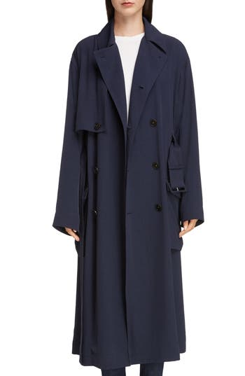 Acne Studios Olicia Fluid Twill Coat