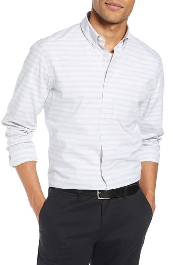 1901 Slim Fit Stripe Sport Shirt