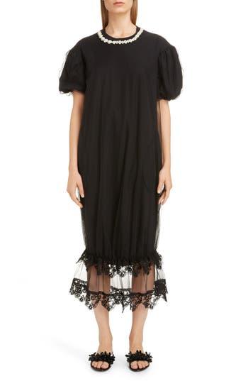 Simone Rocha Tulle Puff T-Shirt Dress
