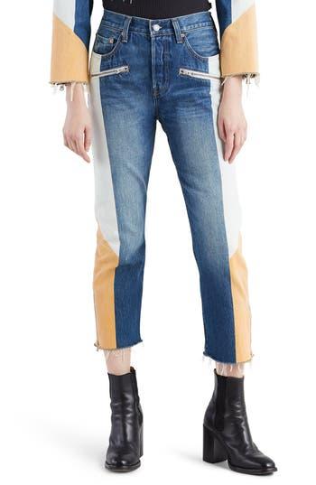 Levi's® 501® Moto Crop Jeans