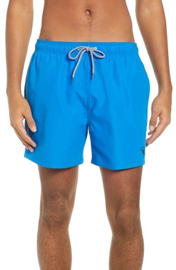 Ted Baker London Plankton Slim Fit Swim Trunks