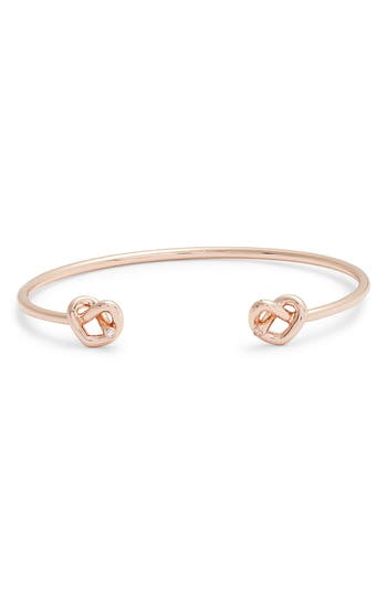 kate spade new york double loves me knot cuff bracelet