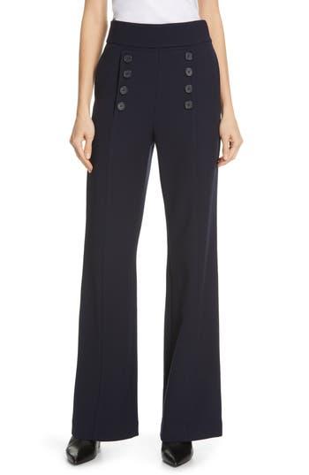 Joie Ardina High Waist Wide Leg Sailor Pants