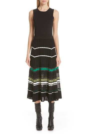 Proenza Schouler Stripe Knit Dress