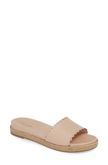 kate spade new york zeena espadrille slide sandal (Women)