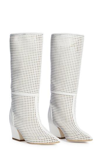 Tibi Luca Perforated Boot (Women)