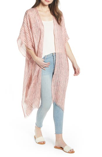Treasure & Bond Stripe Oversize Ruana