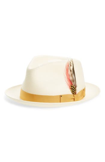 Bailey 'Guthrie' Water Repellent Straw Fedora