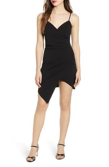 Love, Nickie Lew Asymmetrical Body-Con Dress