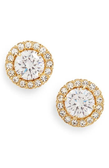 Women's Nadri Round Cubic Zirconia Stud Earrings