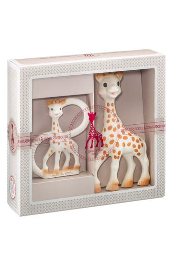 Infant Sophie La Girafe Sophiesticated Ring Teether  Teething Toy
