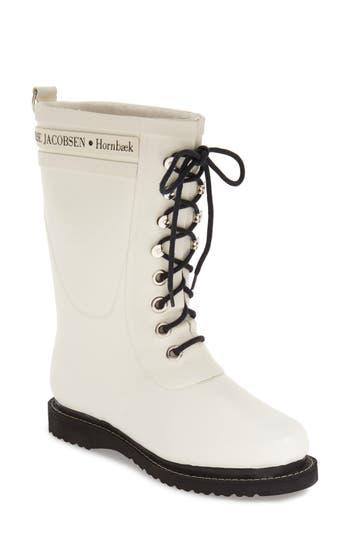 Ilse Jacobsen Hornbaek Rubber Boot White