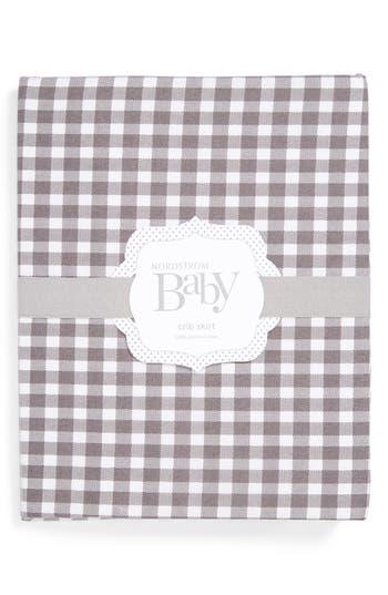 Nordstrom Baby Gingham Crib Skirt