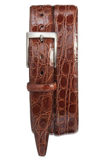 Men's Torino Belts Caiman Alligator Leather Belt