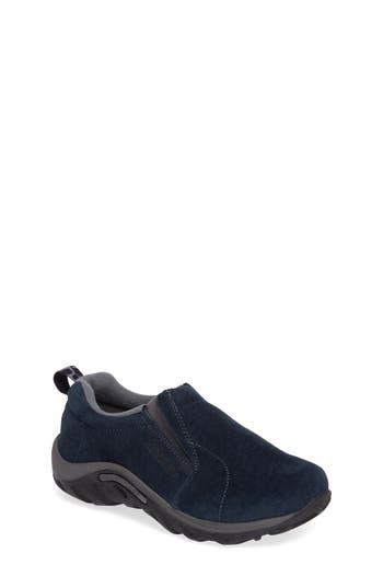 Boys Merrell Jungle Moc SlipOn Sneaker Size 7 M  Blue