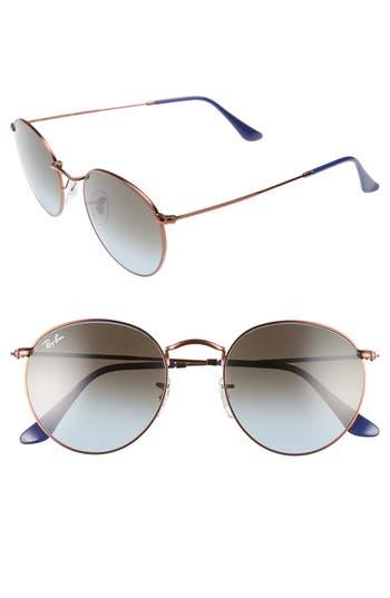 Ray-Ban Icons 5m Retro Sunglasses - Blue/ Brown