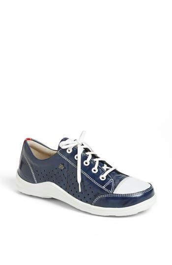 Finn Comfort Perforated Sneaker, Blue