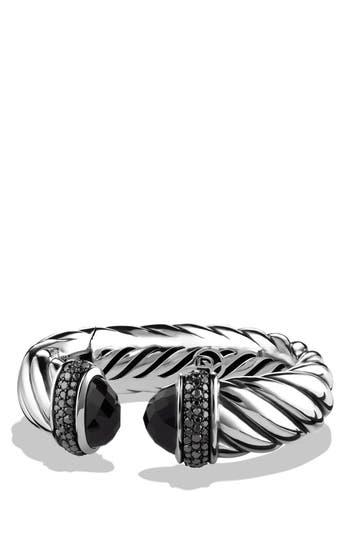Women's David Yurman 'Waverly' Bracelet With Semiprecious Stones & Gems