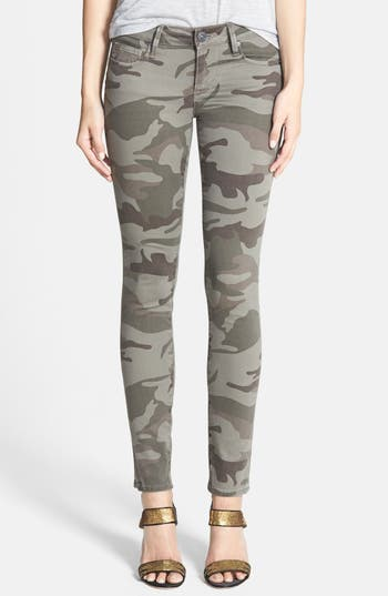 True Religion Brand Jeans Casey Print Super Skinny Jeans