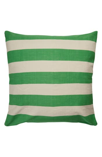 Kate Spade New York Double Stripe Accent Pillow, x32 - Green