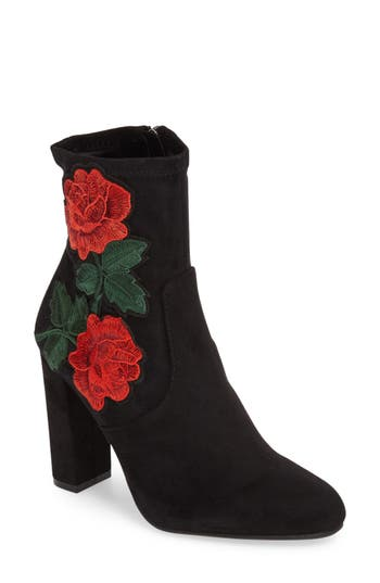 Steve Madden Edition Embroidered Bootie