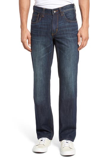 Big & Tall Tommy Bahama Barbados Bootcut Jeans Blue