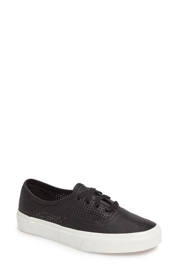 Vans Authentic Dx Perforated Sneaker- Black