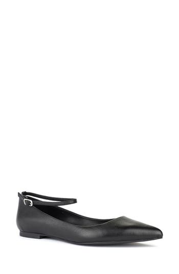 Shoes Of Prey Ankle Strap Flat
