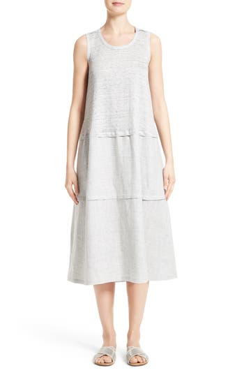 Lafayette 148 New York Leola Linen Shift Dress