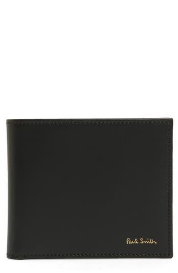 Paul Smith Multistripe Calfskin Leather Billfold -