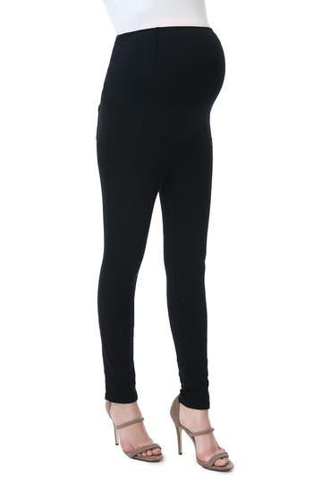 Kimi & Kai Lenora Maternity Leggings, Black