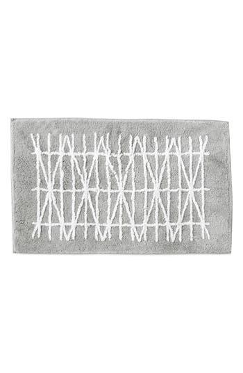 Dkny Geometrix Bath Rug, Size One Size - Grey