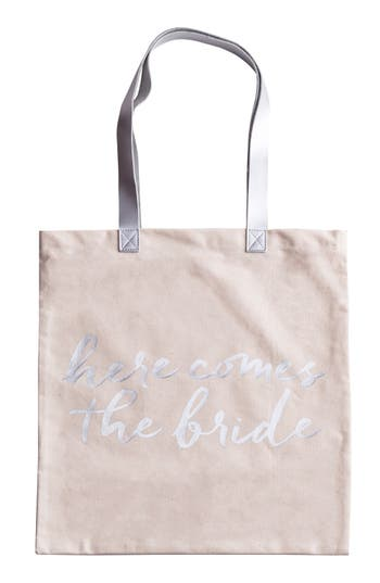 Rosanna Here Comes The Bride Canvas Tote -
