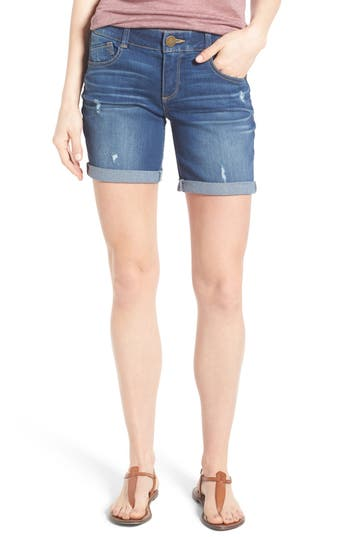 Ab-Solution Bermuda Denim Shorts
