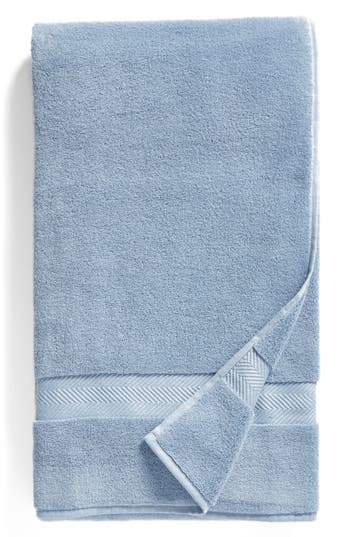 Nordstrom At Home Hydrocotton Bath Sheet, Size One Size - Blue