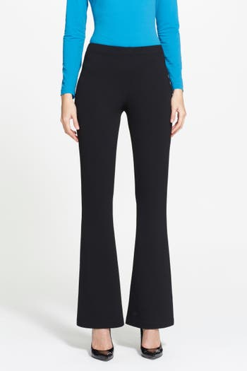 Women's St. John Collection 'Kasia' Bootcut Milano Knit Pants