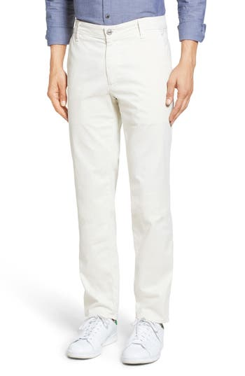 Men's Ag 'The Lux' Tailored Straight Leg Chinos