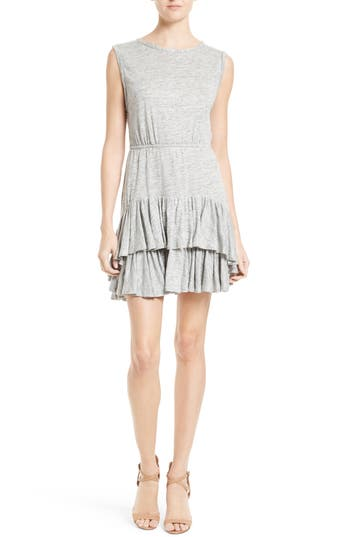 Rebecca Taylor Linen Jersey Sheath Dress