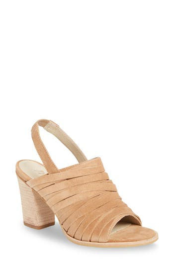 Matisse Mummy Slingback Sandal- Beige