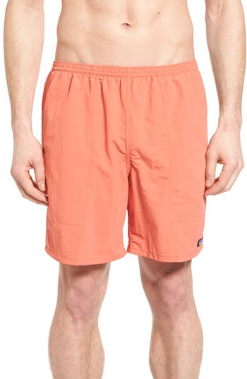 Patagonia Baggies Longs Swim Trunks, Pink