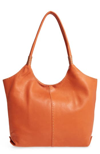 Frye Naomi Leather Shoulder Bag - Orange