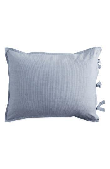 Dkny Pure Stripe Pillow Sham, Size King - Blue