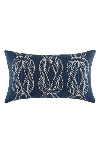 Tommy Hilfiger Robinson Knots Pillow, Size One Size - Blue