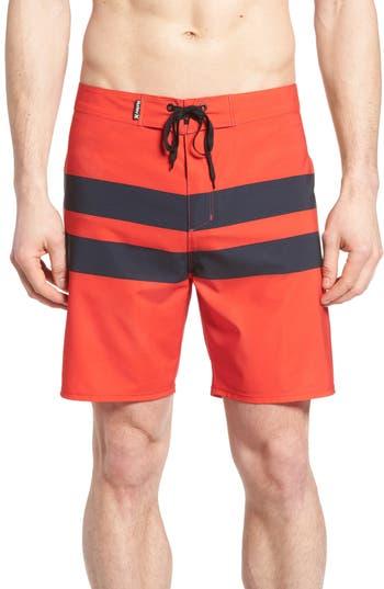 Big & Tall Hurley Phantom Blackball Board Shorts, Red