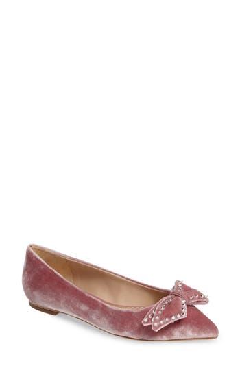 Women's Sam Edelman Raisa Bow Flat, Size 6 M - Pink