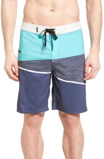 Rip Curl Mirage Wedge Board Shorts, Blue