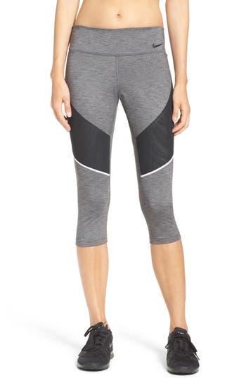 Nike Power Legendary Training Capris, Grey