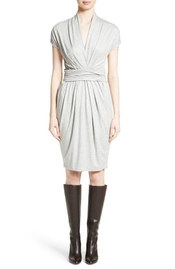 Max Mara Pergola Jersey Dress, Grey