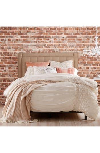 Peri Home Triangle Braid Comforter & Sham Set, Size Twin - Beige